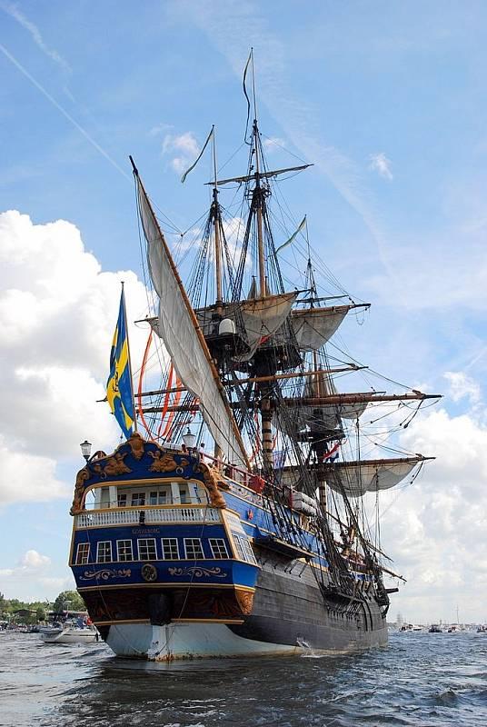 Replika lodi Götheborg