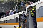 Nehoda vlaku na Tchaj-wanu
