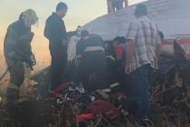Nehoda letadla nedaleko Pretorie