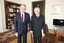 Prezident Miloš Zeman přijal rezignaci odcházejícího ústavního soudce Jana Musila.