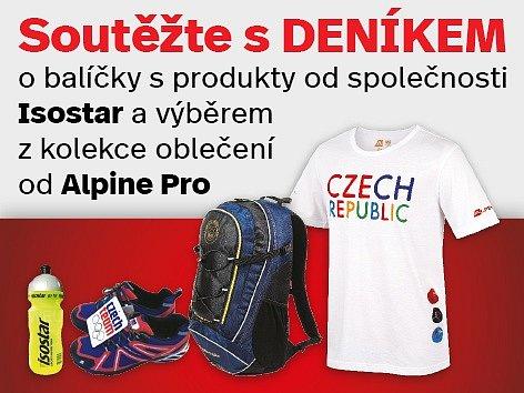 Soutěž o balíčky s produkty Isostar a výběrem z kolekce oblečení od Alpine Pro.