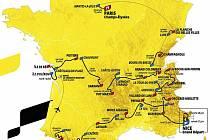 Trasa Tour de France 2020