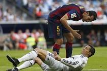 Real Madrid - Barcelona: Sergio Busquets je naštvaný na Cristiana Ronalda