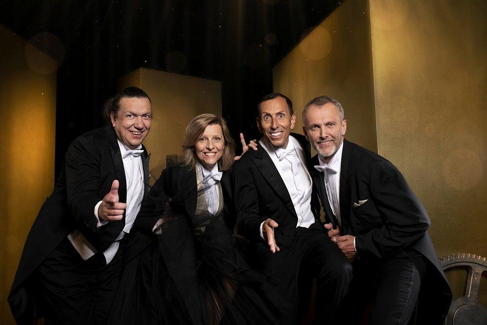 Richard Genzer, Tatiana Drexler, Zdeněk Chlopčík a Jan Tománek