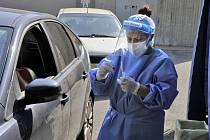 Italská Lombardie během covidové pandemie