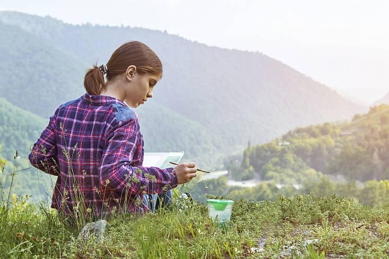 Příroda má příznivý vliv nejen na fyzické a psychické zdraví, ale i na kognitivní funkce, intelekt.