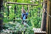 Jungle Park v brněnských Pisárkách