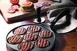 Pánev na hamburgery z litého hliníku, Tchibo