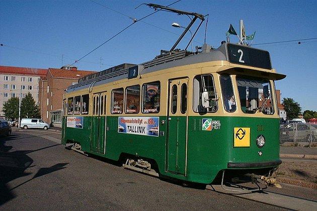 Helsinky nabízejí zdarma staré tramvaje