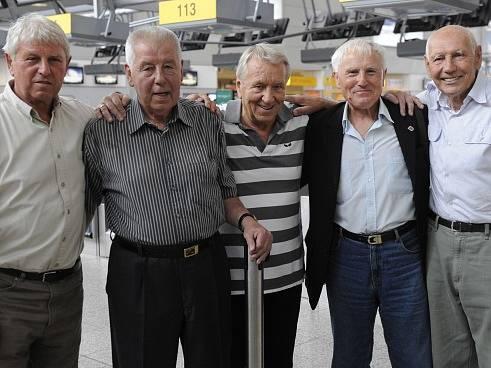 Václav Mašek, Josef Masopust, Josef Jelínek, Jozef Štibrányi, Jiří Tichý