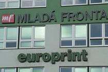 Knižní nakladatelství a vydavatelství časopisů Mladá Fronta, a.s. a tiskárna Europrint v Modřanech