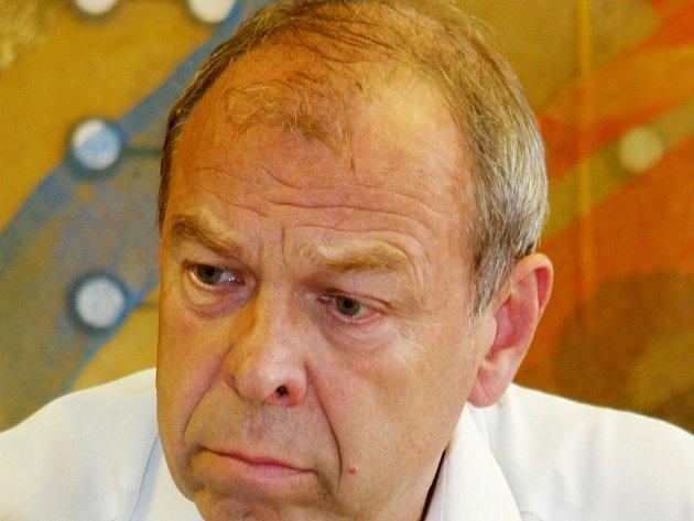 Jaroslav Zavadil, předseda Českomoravské konfederace odborových svazů.