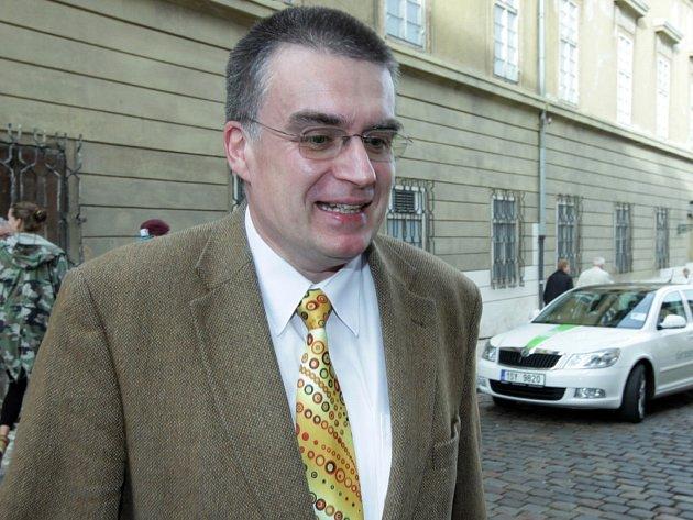 Ministr dopravy z Rusnokovy úřednické vlády Zdeněk Žák.