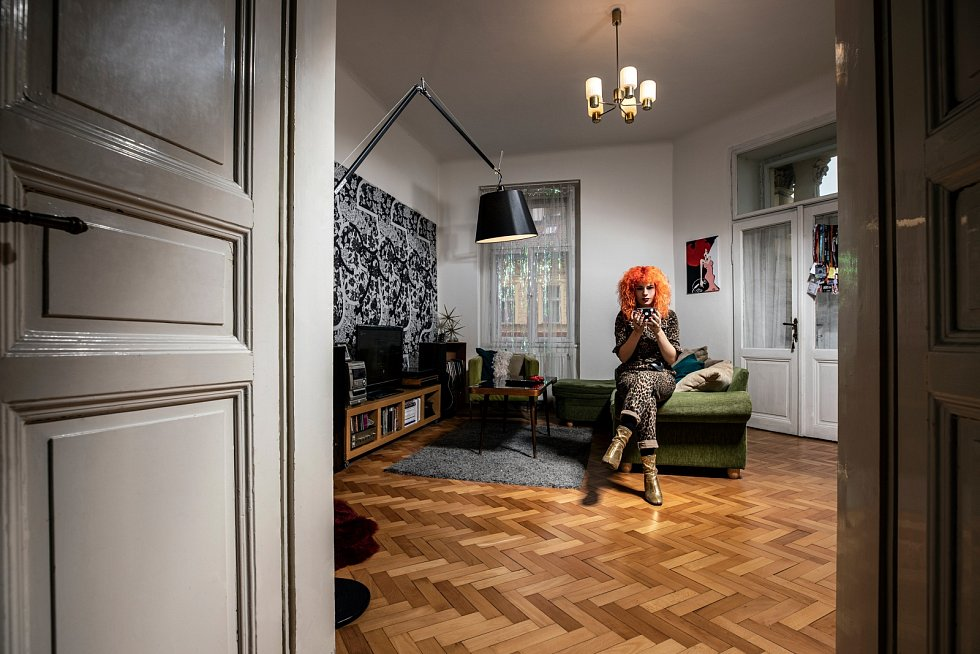 Žofie Dařbujánová, sympatická rebelka s nezaměnitelným hlasem žije se svým přítelem na pražských Vinohradech.