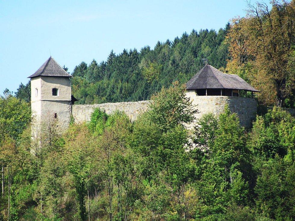Hrad Brumov v Bílých Karpatech