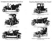 Dobová reklama na Model T (1911).