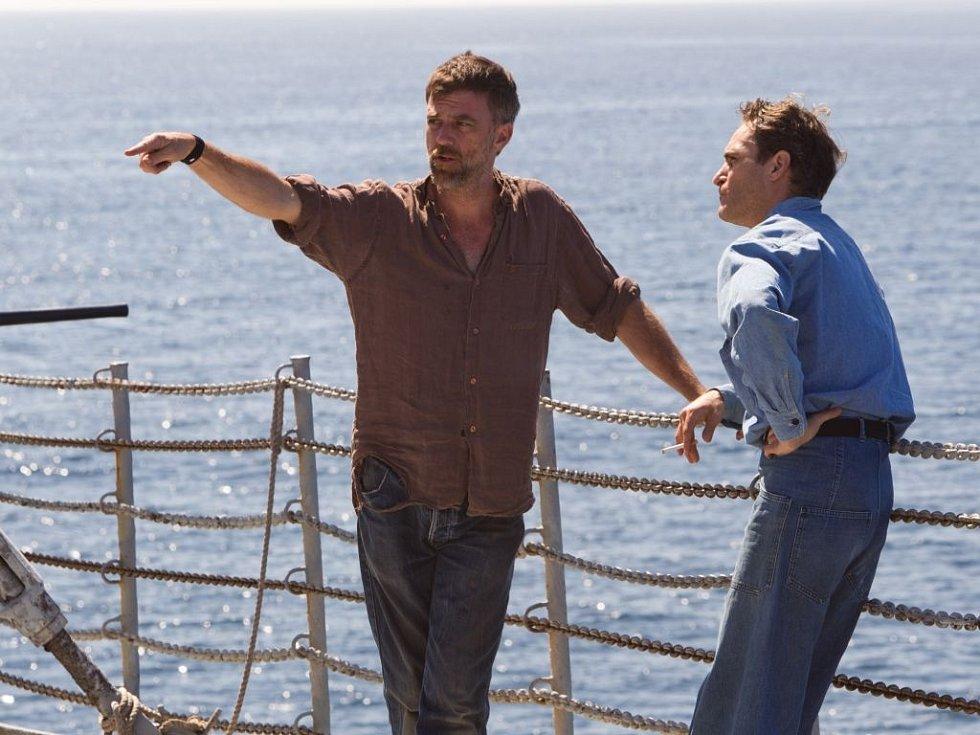 Americký film Mistr s čerstvou oscarovou nominací: Joaquin Phoenix s režisérem