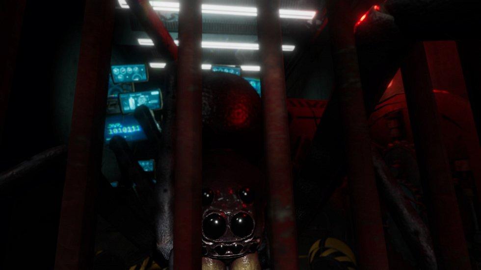 Ve hře Arachnoid VR se hráči ocitnou v roli průzkumníků, kteří jsou vysláni zpět v čase s úkolem obnovit komunikaci s výzkumnou stanicí kdesi hluboko pod zemí.