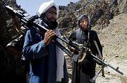 Tálibánci v horách