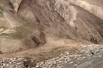 Sesuv půdy v Afghánistánu