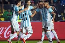 Fotbalisté Argentiny nedali v semifinále soupeři z Paraguaye šanci.