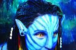 Kalendář Proměny - Chantal Poullain jako Avatar