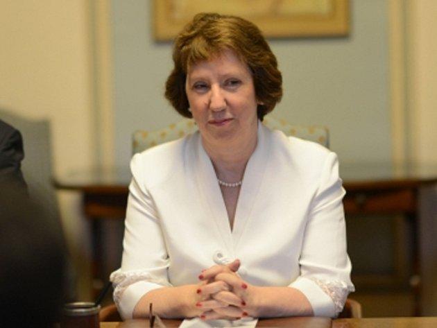 Šéfka diplomacie Evropské unie Catherine Ashtonová.