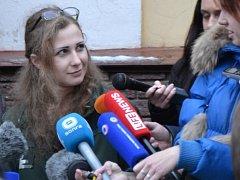 První se dostala na svobodu Maria Aljochinová.
