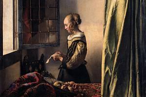 Obraz nizozemského malíře Jana Vermeera, na němž restaurátoři objevili postavu kupida.