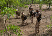 Čeští vojáci v Mali (foto z výcviku)
