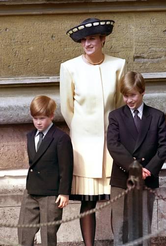 Diana se svými syny