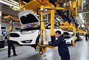 Výroba ve firmě Ford
