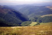 Hřebeny v Karpatech nabízejí strhující výhledy