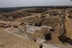 Jižní část královnina pyramidového komplexu, který sousedí se zádušním chrámem krále Džedkarea. Na dochovaných částech dlažby lze jasně rozeznat různé místnosti a chodby.
