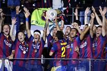 Barcelona vs. Juventus: Křepčení s trofejí