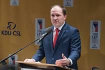 Nový předseda KDU-ČSL Marek Výborný