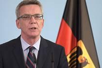 Německý ministr vnitra Thomas de Maiziére