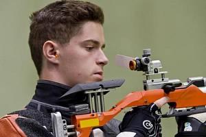Český reprezentant ve sportovní střelbě Filip Nepejchal
