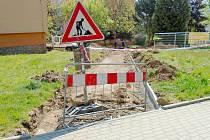 Oprava chodníku - Ilustrační foto