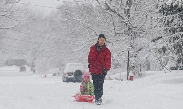 Sněhová kalamita v New Yorku