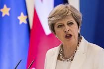 Theresa Mayová na summitu EU