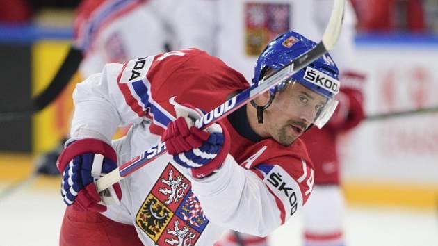 Český reprezentant Tomáš Plekanec.