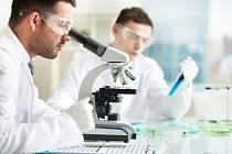 Laboratoř pro testování léčiv (ilustrační snímek)