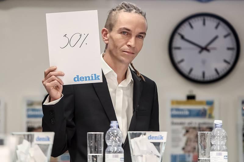 Předvolební debata Deníku: Ivan Bartoš
