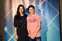 Dalibor Slepčík a Sabina Slepčíková během své účasti v SuperStar