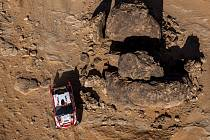 Martin Prokop ve čtvrté etapě Rallye Dakar