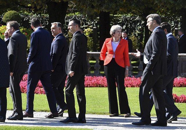 Setkání lídrů EU v Salcburku