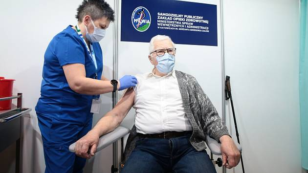Očkování proti koronaviru v Polsku