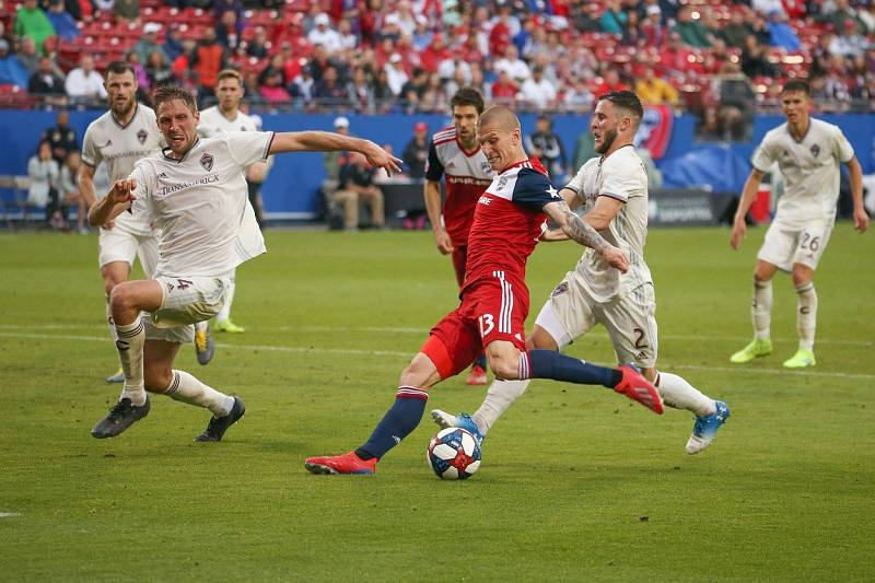 Český útočník Zdeněk Ondrášek v dresu týmu FC Dallas z americké MLS