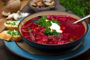 Polévka - Boršč